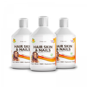Hair Skin Nails 3x500ml